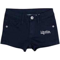 Vêtements Fille Shorts / Bermudas Interdit De Me Gronder SUNITA Bleu marine