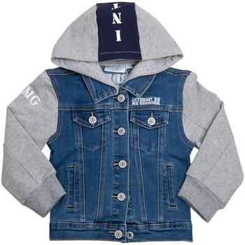 Vêtements Garçon Vestes en jean Interdit De Me Gronder KLIX Bleu marine