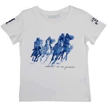 Vêtements Garçon T-shirts & Polos Interdit De Me Gronder PADDINGTON Ecru