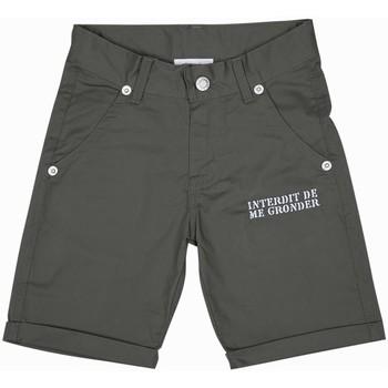 Vêtements Garçon Shorts / Bermudas Interdit De Me Gronder PLAYA Vert kaki