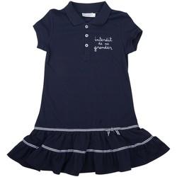 Vêtements Fille Robes Interdit De Me Gronder MADEMOISELLE Bleu marine