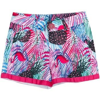 Vêtements Fille Shorts / Bermudas Interdit De Me Gronder LOLITA Bleu turquoise
