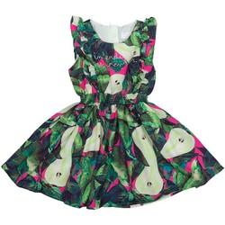 Vêtements Fille Robes Interdit De Me Gronder JUKI Vert
