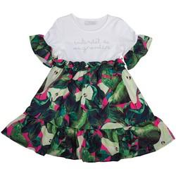 Vêtements Fille Robes Interdit De Me Gronder ELEGANTA Vert