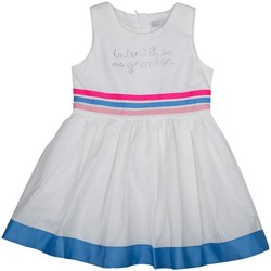 Vêtements Fille Robes Interdit De Me Gronder ARC-EN-CIEL Blanc