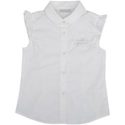 Vêtements Fille Chemises / Chemisiers Interdit De Me Gronder CLASSICA Blanc