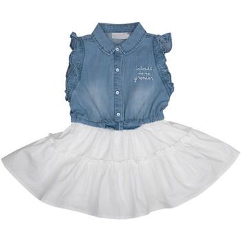Vêtements Fille Robes courtes Interdit De Me Gronder BLA BLA Bleu marine