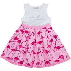 Vêtements Fille Robes Interdit De Me Gronder FLAMME Rose fuschia
