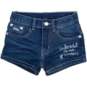 Vêtements Fille Shorts / Bermudas Interdit De Me Gronder FLORIDA Bleu