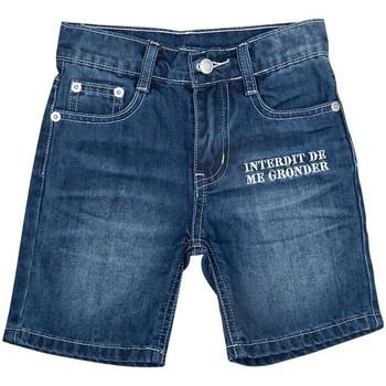 Vêtements Garçon Shorts / Bermudas Interdit De Me Gronder CALIFORNIA Bleu