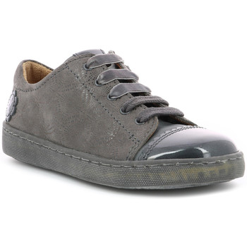 Chaussures Fille Baskets basses Aster Selina GRIS FONCE