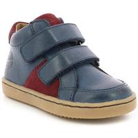 Chaussures Garçon Baskets montantes Aster Wikiri MARINE