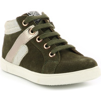 Chaussures Fille Baskets montantes Aster Yo KAKI