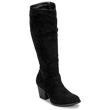 Chaussures Femme Bottes ville Moony Mood NOEMA Noir