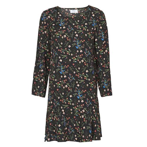 Vêtements Femme Robes courtes Betty London NELLY Noir / Multicolore
