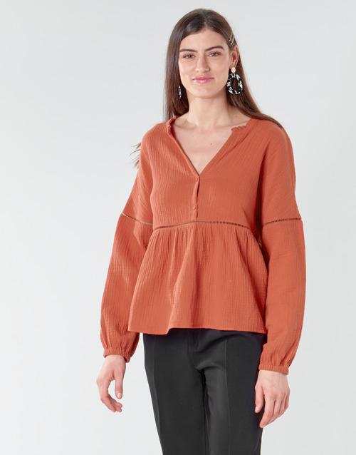 Vêtements Femme Tops / Blouses Betty London NASSE Rouille