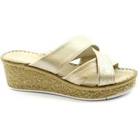 Chaussures Femme Sandales et Nu-pieds Grunland GRU-RRR-CI1772-PL Platino