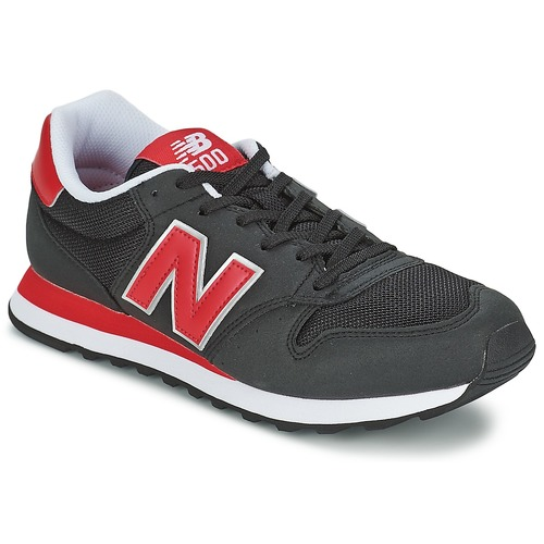 Chaussures Baskets basses New Balance GM500 Noir / Rouge