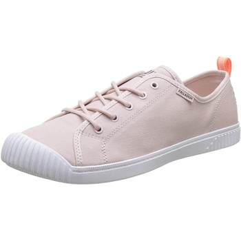 Chaussures Femme Baskets basses Palladium Manufacture Easy Lace Canvas Peach Whip