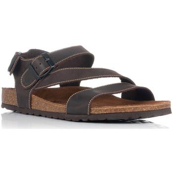 Chaussures Homme Sandales et Nu-pieds Interbios 9557 Marron