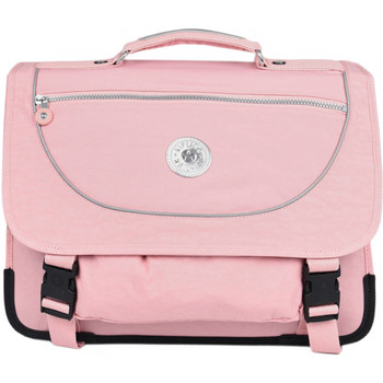 Sacs Fille Cartables Kipling Cartable   BACK TO SCHOOL 110-00012074 BRIDAL ROSE