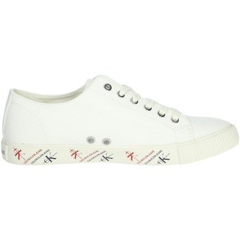 Chaussures Homme Baskets basses Calvin Klein Jeans B4S0668 Blanc crème