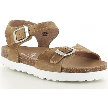 Chaussures Fille Sandales et Nu-pieds Elephant Rose 933-09449-3 taupe Beige