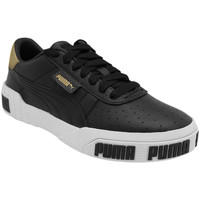 Chaussures Femme Baskets basses Puma Baskets CALI BOLD METALLIC noir