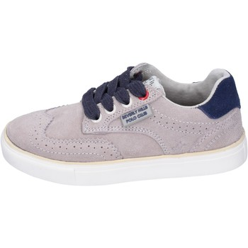 Chaussures Garçon Baskets mode Beverly Hills Polo Club sneakers daim beige