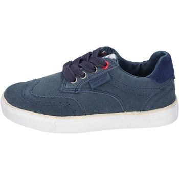 Chaussures Garçon Baskets mode Beverly Hills Polo Club sneakers daim bleu