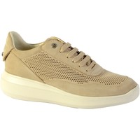Chaussures Femme Baskets mode Geox Basket D Rubidia A - NAPPA LT Taupe