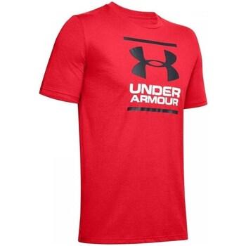 Vêtements Homme T-shirts manches courtes Under Armour GL Foundation SS T Rouge