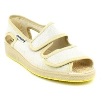 Chaussures Femme Sandales et Nu-pieds Emanuela 662.09_36 Beige