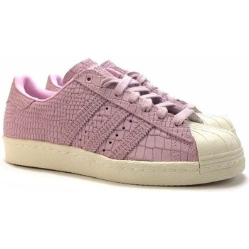 Chaussures Femme Baskets basses adidas Originals superstar 80s w Rose