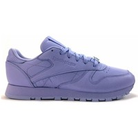 Chaussures Femme Baskets mode Reebok Sport cl leather Violet