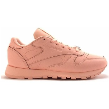 Chaussures Femme Baskets mode Reebok Sport cl leather Rose