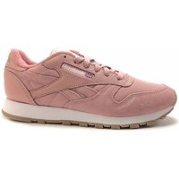 Chaussures Femme Baskets mode Reebok Sport cl leather estl Rose