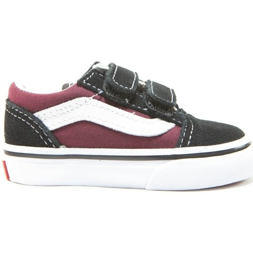 vans enfant old skool bordeaux