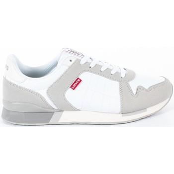 Chaussures Homme Baskets basses Levi's webb light Blanc