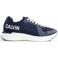 Chaussures Homme Baskets basses Calvin Klein Jeans amos mesh Bleu