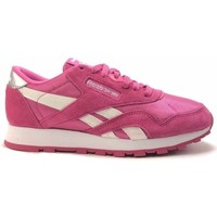 Chaussures Fille Baskets mode Reebok Sport classic nylon Rose