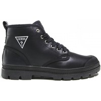 Chaussures Homme Baskets montantes Guess billy logo Noir