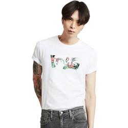 Vêtements Homme T-shirts manches courtes Levi's housemark graphic Blanc
