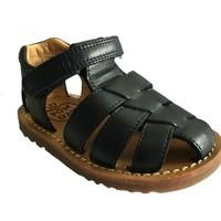 Chaussures Garçon Sandales et Nu-pieds Pom d'Api waff papy marine