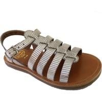 Chaussures Fille Sandales et Nu-pieds Pom d'Api plagette strap beige