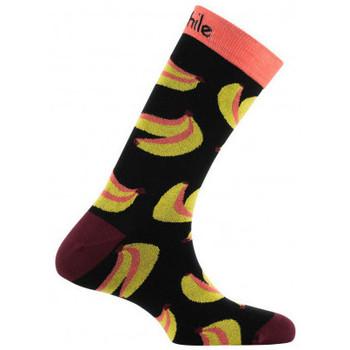 Accessoires Homme Chaussettes Achile Mi-chaussettes mixtes Banana Noir