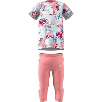 Vêtements Fille Ensembles de survêtement adidas Originals TUTA MULTICOLORE Multicolore