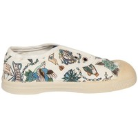 Chaussures Fille Tennis Bensimon Tennis Enfant Elly Liberty Print Blanc