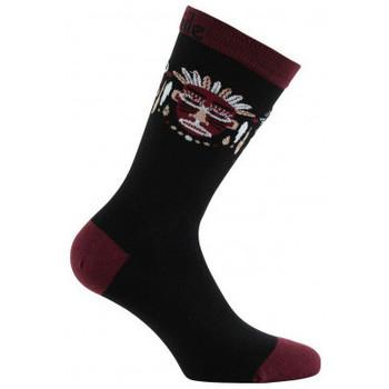 Accessoires Homme Chaussettes Achile Mi-chaussettes mixtes Aztèque Noir