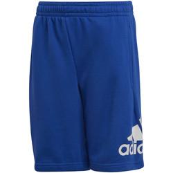 Vêtements Enfant Shorts / Bermudas adidas Originals Short Badge Of Sport bleu